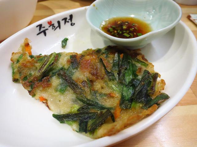 韓国家庭料理おんに チヂミ