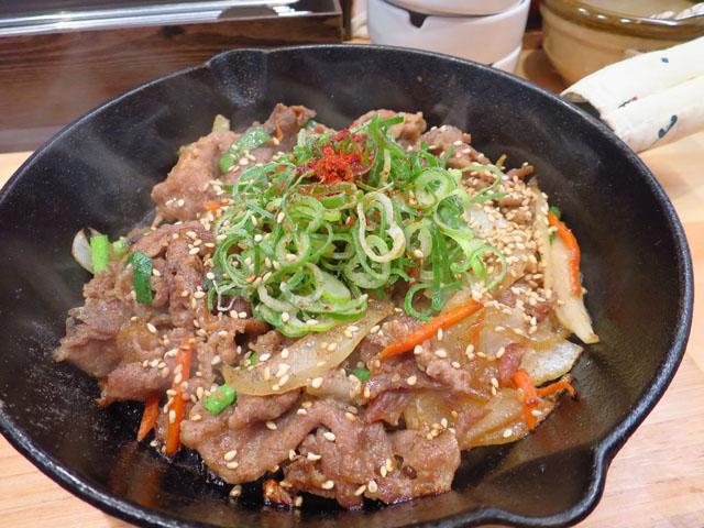 韓国家庭料理おんに 豚ブルコギ