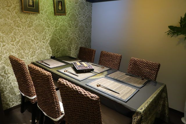 アジアンキッチン ルーナ 個室