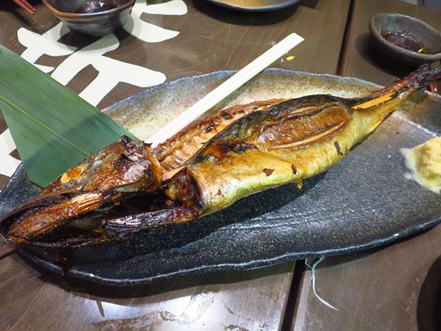 とろさば料理専門店 SABAR 阪急三番街店 とろさば浜焼き