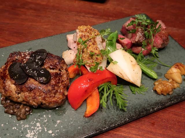 梅田肉料理きゅうろく 96特選肉盛り