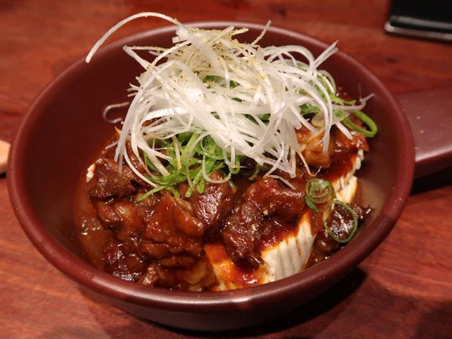 梅田肉料理きゅうろく 96風肉豆腐