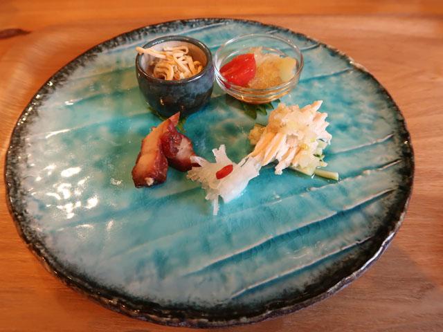 中華厨房やまぐち 前菜盛合せ