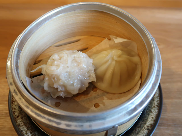 中華厨房やまぐち 本日の点心2種