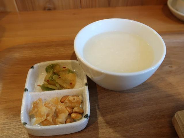 中華厨房やまぐち お粥