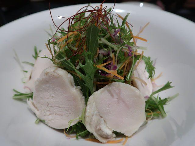 鉄板 べろにこ 自家製鶏ハムのコブサラダ