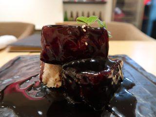 中國菜 心香 金華豚の黒醋の酢豚