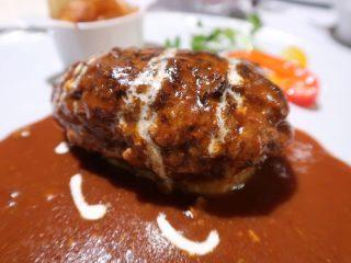 レストラン男山 ハンバーグ