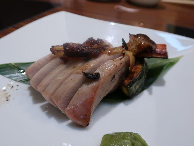 松坂豚しゃぶしゃぶ べろにこ 知覧鶏もも肉の塩麹焼き