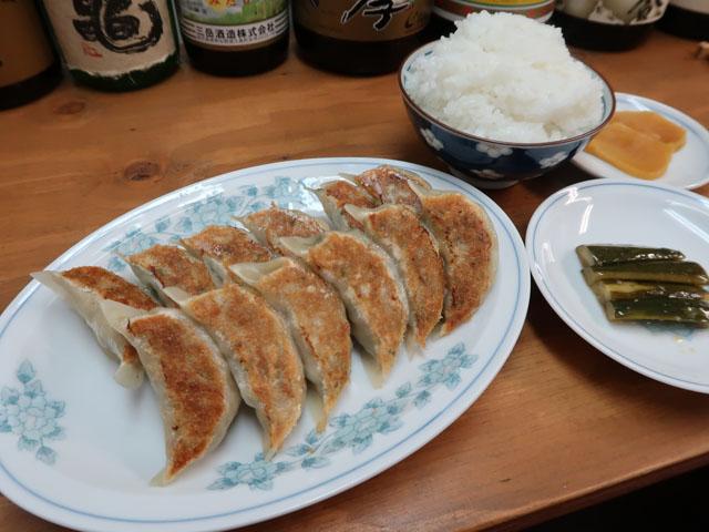 帰去来 (キキョライ)餃子ライスセット