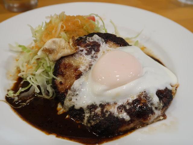 洋食クリル ハンバーグ