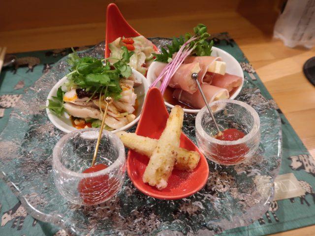 中国料理 開華 前菜盛合せ