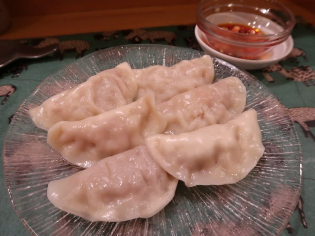 中国料理 開華 水餃子