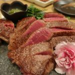 中崎商店街『焼肉たまき』黒毛和牛A5等級のへレ&サーロインステーキが超ウルトラ必食!!!
