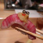 京都東山区『おにくのおすし京都祇園店』松阪牛の希少部位が味わえる肉寿司懐石を堪能しました。