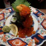 西中島南方『長浜ラーメン 必死のパッチ』ラーメン屋さんで美味しい海鮮を食べてきました。