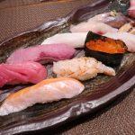 摂津富田『鮨ひびき』夜の季節のにぎり10貫はウルトラメチャお得ですよ。