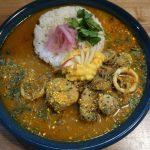 京都市『和とcurry しらべ』イカと里芋の煮物カレーの美味しさにウルトラビックリ!!!
