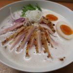 伊丹市『鶏白湯そば 松もと』ランチ限定で食べれる鶏白湯そばはウルトラメチャ旨い!!!