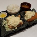 池田市『おばるさんの鶏ばる』タルタルW定食は超ウルトラメチャ旨い!!!