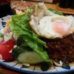 高槻市京口町『いててや』サービス定食のテリヤキハンバーグはウルトラメチャ旨い!!!