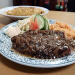 茨木市『ムツヤ』やっぱりここのシャリアピンステーキはウルトラメチャ旨い!!!